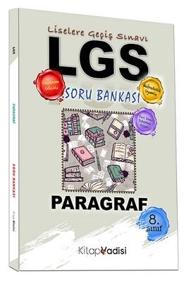 Kitap Vadisi Yayınları - 8. Sınıf LGS Paragraf Soru Bankası
