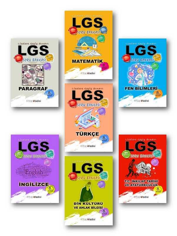 Kitap Vadisi Yayınları - 8. Sınıf LGS Seti
