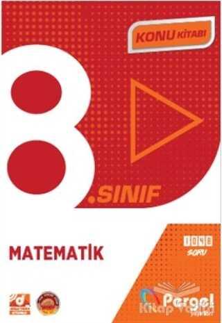 Pergel Yayınları - 8. Sınıf Matematik Konu Kitabı