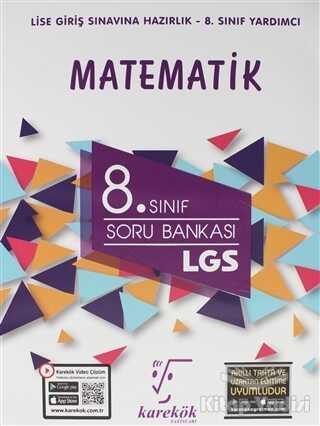 Karekök Yayıncılık - 8. Sınıf Matematik LGS Soru Bankası