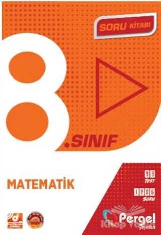 Pergel Yayınları - 8. Sınıf Matematik Soru Kitabı