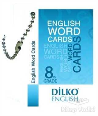 Dilko Yayıncılık - 8. Sınıf Resimli İngilizce Kelime Kartı