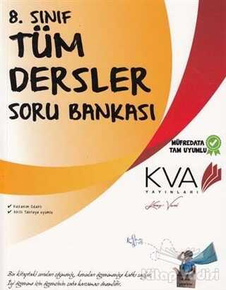 Koray Varol Yayınları - Özel Ürün - 8. Sınıf Tüm Dersler Soru Bankası