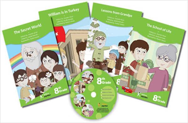 Kelime Yayınları - 8. Sınıflar İçin İngilizce Hikaye Seti