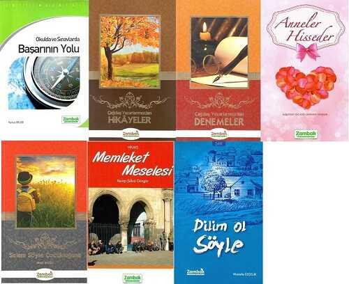 Zambak Yayınları - 9-10-11.Sınıf Özgün Eserler (7 Kitap)