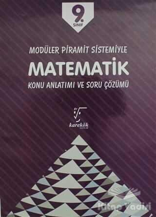Karekök Yayıncılık - 9. Sınıf Matematik Konu Anlatımı ve Soru Çözümü