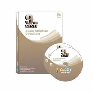 - 9. Sınıf Tüm Dersler Görüntülü Eğitim Seti DVD