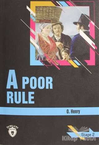 Dorlion Yayınevi - A Poor Rule Stage 2 (İngilizce Hikaye)