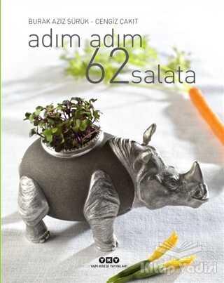 Yapı Kredi Yayınları - Adım Adım 62 Salata