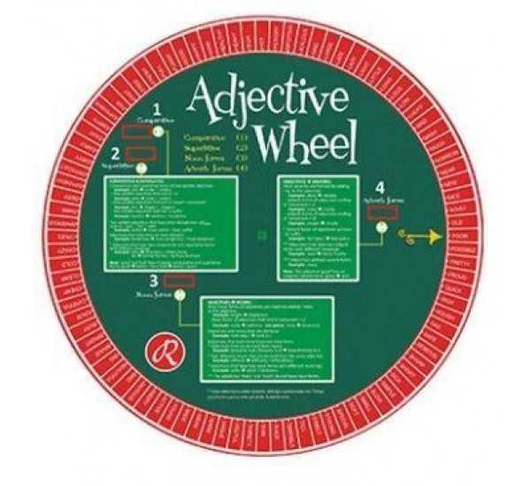 Redhouse Yayınları - Redhouse Adjective Wheel - Redhouse Sıfat Çarkı