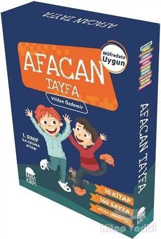 Mavi Kirpi Yayınları - Afacan Tayfa 1. Sınıf İlk Okuma Seti (10 Kitap)