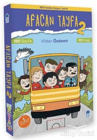 Mavi Kirpi Yayınları - Afacan Tayfa 2 - 1.Sınıf Okuma Seti (10 Kitap Takım)