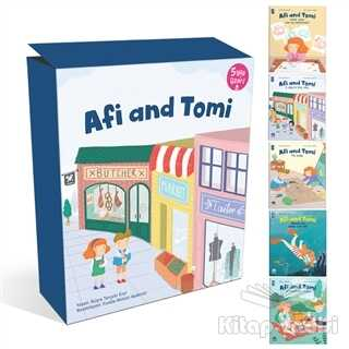 Martı Çocuk Yayınları - Afi and Tomi (5 Kitap Takım)