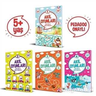 Dokuz Yayınları - Akıl Oyunları Serisi (5+ Yaş) (4 Kitap Takım)