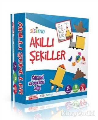 Sisimo Akıl ve Zeka Oyunları - Akıllı Şekiller (Görsel ve Şekilsel Algı)