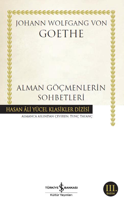 İş Bankası Kültür Yayınları - Alman Göçmenlerin Sohbetleri