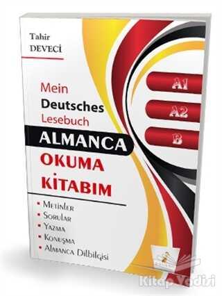 Pelikan Tıp Teknik Yayıncılık - Almanca Okuma Kitabım A1 - A2 - B Seviyesi