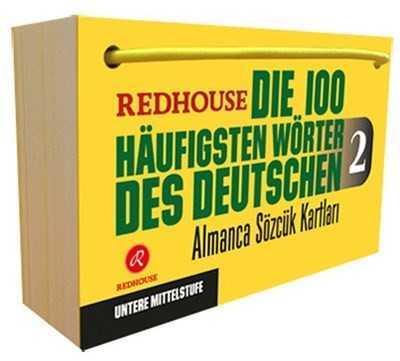 Redhouse Yayınları - Die 100 Haufigsten Wörter des Deutschen 2 - Almanca Sözlük Kartları