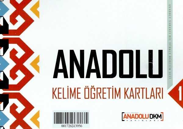 Dilset Yayınları - Anadolu Türkçe Kelime Öğretim Kartları 1
