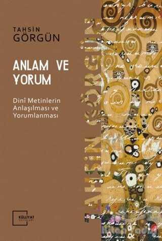 Külliyat Yayınları - Anlam ve Yorum