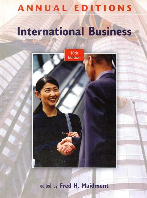 McGraw-Hill Education - Annual Editions: International Business, 16/E