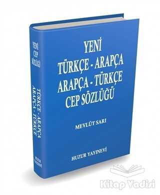 Huzur Yayınevi - Arapça-Türkçe Cep Sözlüğü (Mavi Kapak)