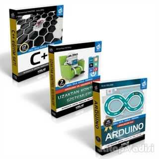 Kodlab Yayın Dağıtım - Arduino Eğitim Seti 2 (3 Kitap Takım)