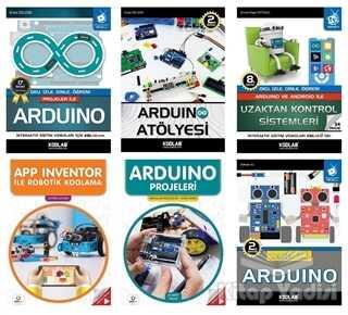 Kodlab Yayın Dağıtım - Arduino Programlama Eğitim Seti (6 Kitap Takım)