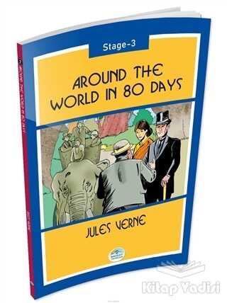 Maviçatı Yayınları - Around The World In 80 Days Stage 3