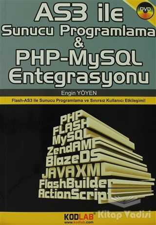 Kodlab Yayın Dağıtım - AS3 İle Sunucu Programlama ve PHP-MySQL Entegrasyonu