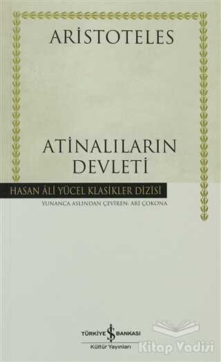 İş Bankası Kültür Yayınları - Atinalıların Devleti