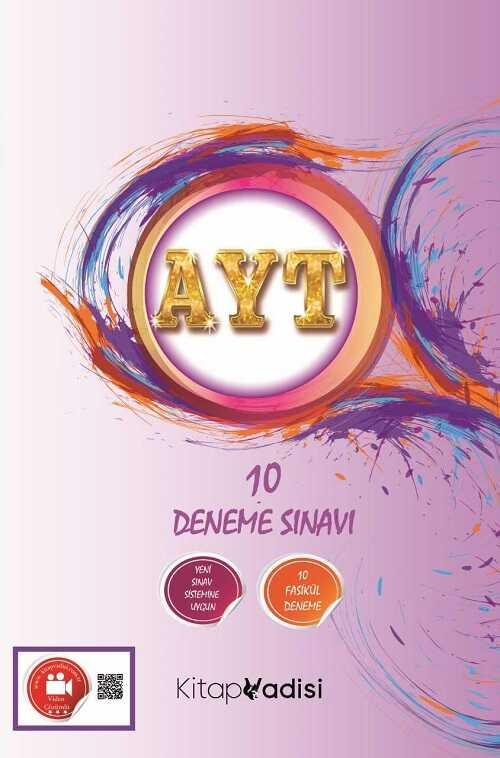 Kitap Vadisi Yayınları - AYT 10 Deneme Sınavı