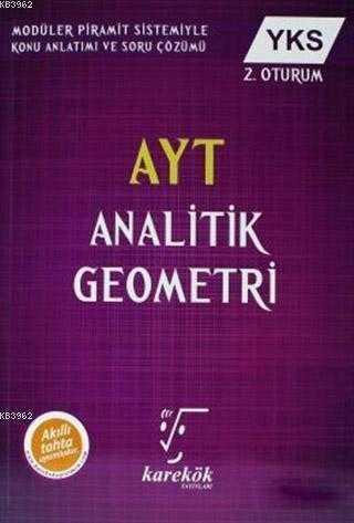 Karekök Yayınları - AYT ANALİTİK GEOMETRİ KONU KİTABI - KAREKÖK YAYINLARI
