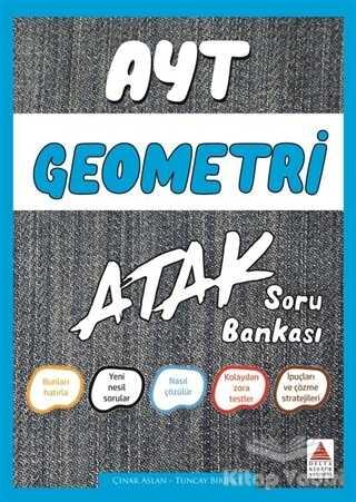 Delta Kültür Basım Yayın - AYT Geometri Atak Soru Bankası