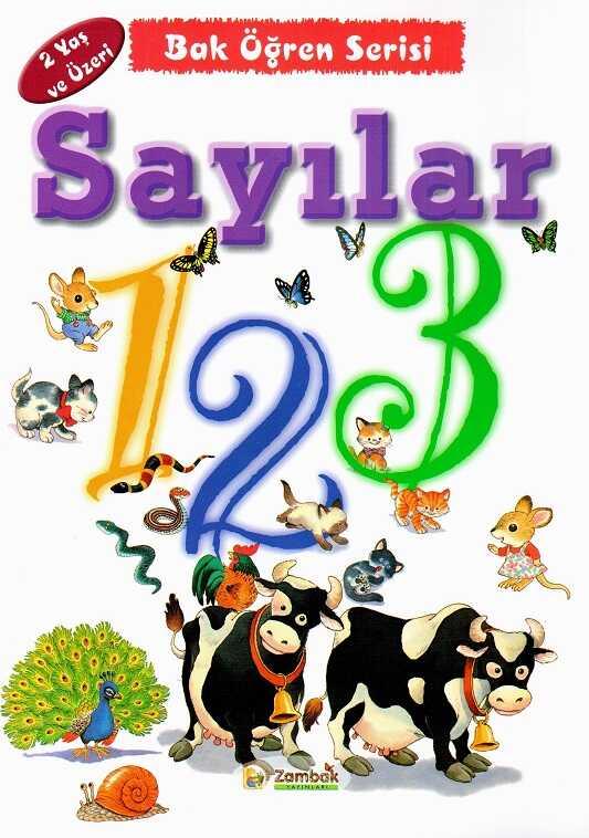 Zambak Yayınları - Bak Öğren Serisi 2 Yaş Ve Üzeri (10 Kitap)
