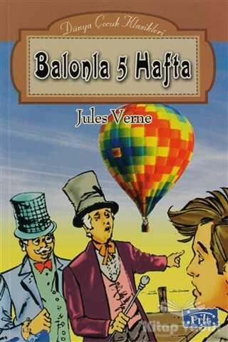 Parıltı Yayınları - Balonla 5 Hafta
