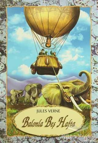 Özyürek Yayınları - Hikaye Kitapları - Balonla Beş Hafta
