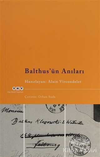 Yapı Kredi Yayınları - Balthus'ün Anıları