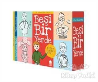 Mavi Kirpi Yayınları - Beşi Bir Yerde (12 Kitap Takım)