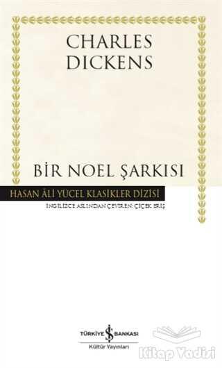İş Bankası Kültür Yayınları - Bir Noel Şarkısı (Ciltli)