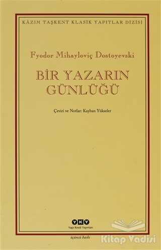 Yapı Kredi Yayınları - Bir Yazarın Günlüğü (2 Cilt Takım - Kutulu)