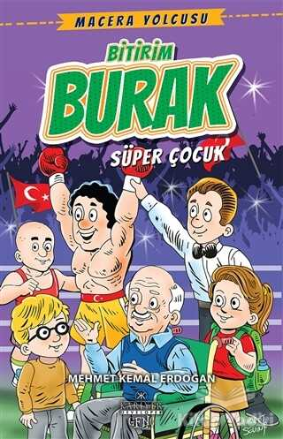 Kariyer Yayınları - Bitirim Burak - Süper Çocuk