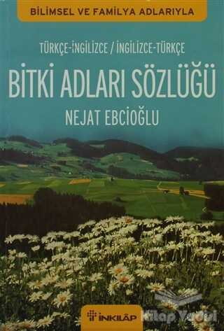 İnkılap Kitabevi - Bitki Adları Sözlüğü (İngilizce - Türkçe / Türkçe - İngilizce)