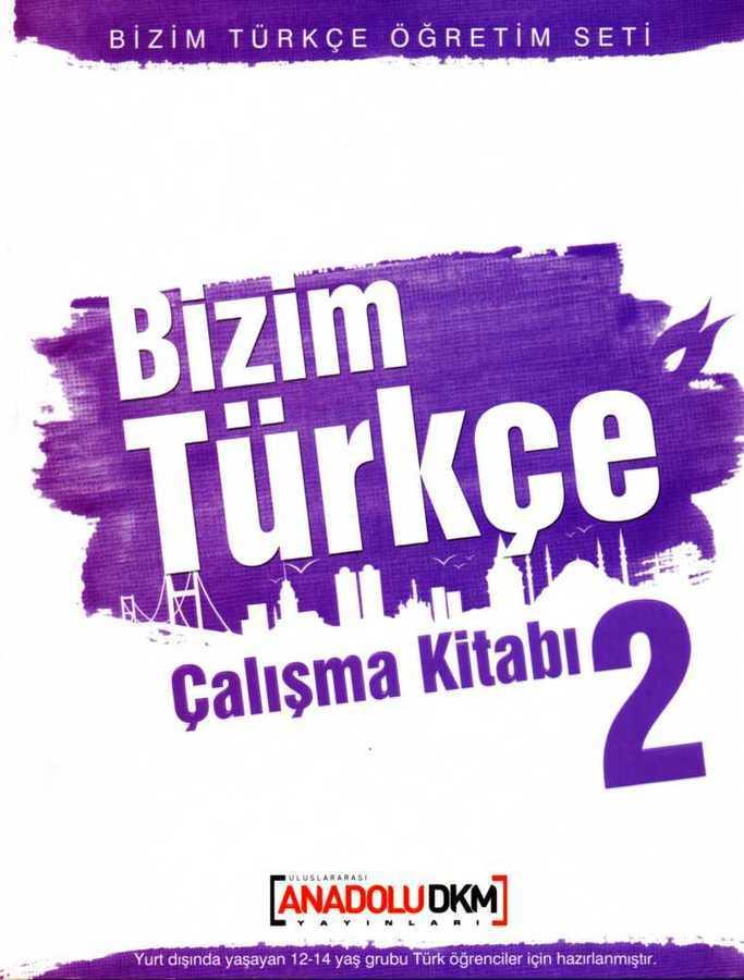 Dilset Yayınları - BİZİM TÜRKÇE2 ÇALIŞMA KİTABI Dilset Yay.