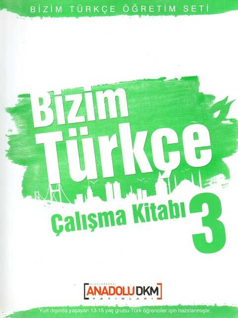 Dilset Yayınları - Bizim Türkçe Çalışma Kitabı 3