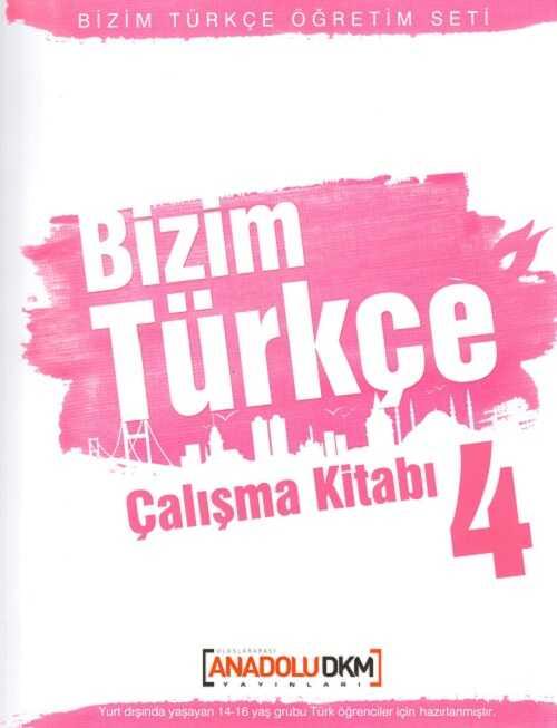 Dilset Yayınları - Bizim Türkçe Çalışma Kitabı 4