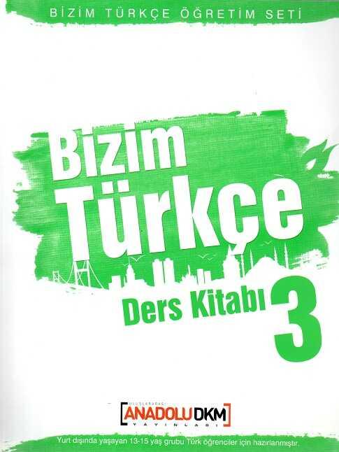 Dilset Yayınları - Bizim Türkçe Ders Kitabı 3