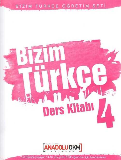 Dilset Yayınları - Bizim Türkçe Ders Kitabı 4
