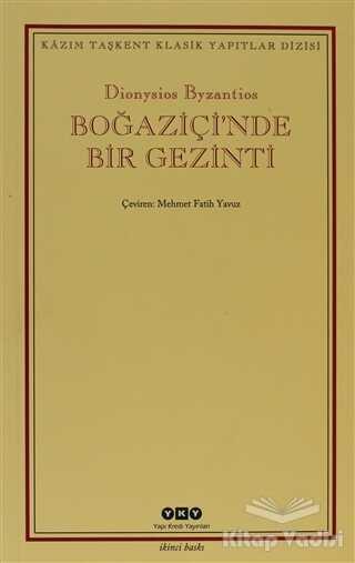 Yapı Kredi Yayınları - Boğaziçi'nde Bir Gezinti