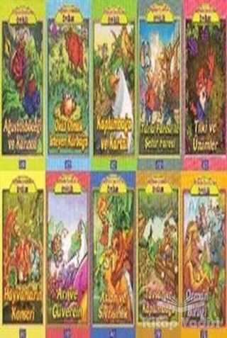 Parıltı Yayınları - Bugünün Çocuklarına Öyküler Dizisi (10 Kitap Takım)